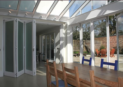 Folding Sliding Doors (internal and external) near Barnes Common, South West London